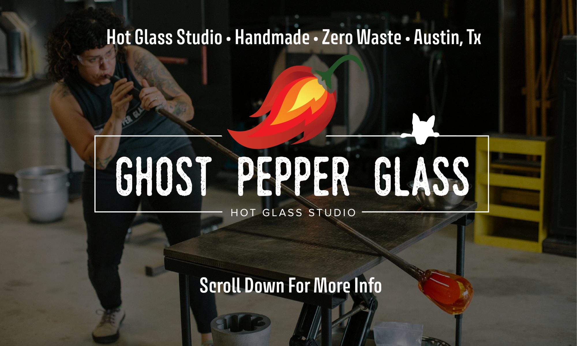 Ghost Pepper Glass